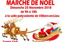 Marché de Noël 2018 de Villiers-en-Lieu (52)