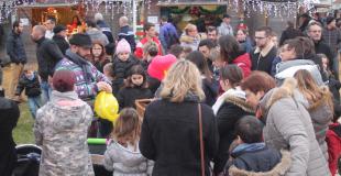 Marché de Noël 2018 à Fontenay le Comte (85)