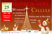 Marché de Noël artisanal 2018 de Chambaron sur Morge (63)