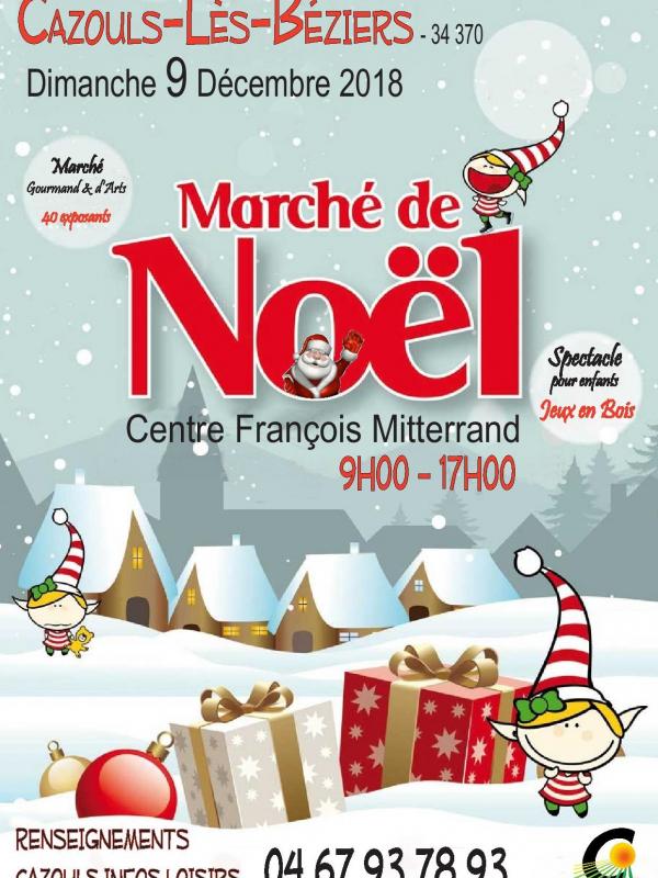 marche de noel 2018 beziers Marché de Noël 2018 de Cazouls lès Béziers (34) marche de noel 2018 beziers