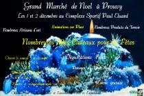 Marché de Noël 2018 de Prouvy (59)