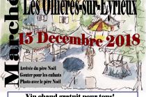 Marché de Noël 2018 à Les Ollières-sur-Eyrieux (07)