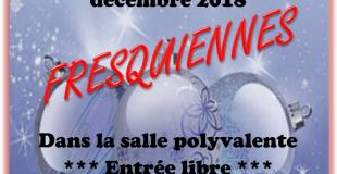 Marché de Noël 2018 à Fresquiennes (76)