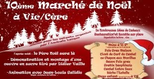Marché de Noël 2018 de Vic-sur-Cère (15)
