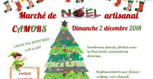 Marché artisanal de Noël 2018 de Camors (56)