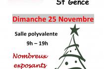 Marché de Noël 2018 de Saint-Gence (87)