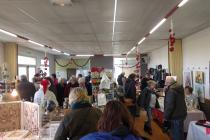 Marché de Noël de Saint-Méloir-des-Bois (22)