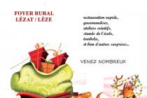 Marché de Noël artisanal 2018 de Lézat-sur-Lèze (09)