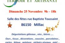 Marché de Noël 2018 à Millac (86)