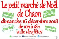 le Petit Marché de Noël 2018 de Chaon (41)