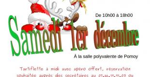 Marché de Noël 2018 des p'tits Arpollans à Pomoy (70)