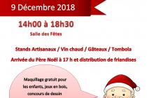 Marché de Noël 2018 de Bellefontaine (39)