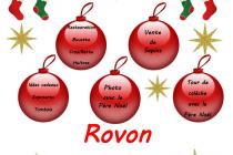 Marché de Noël 2018 du sou des écoles à Rovon (38)