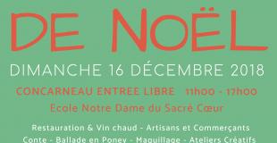 Marché de Noël 2018 de Concarneau (29)