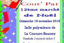 Marché de Noël 2018 à La Couture-Boussey (27)