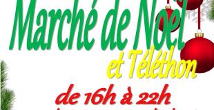 Marché de Noël et Téléthon 2018 à Saint-Gelais (79)