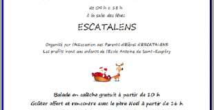 Marché de Noël 2018 d'Escatalens (82)
