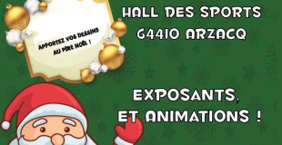 Marché de Noël 2018 d'Arzacq (64)