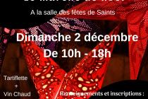 Cinquième Marché de Noël de Saints (77)