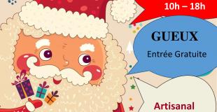 Marché de Noël 2018 à Gueux (51)