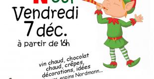 Marché de Noël 2018 des Loustics à Vy-lès-Lure (70)