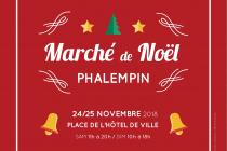 Marché de Noël 2018 de Phalempin (59)