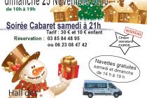 Marché de Noël 2018 de Gueugnon (71)