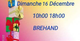Marché de Noël 2018 à Brehand (22)