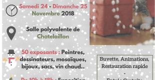Marché de Noël 2018 à Châtelaillon-Plage (17)