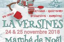 Marché de Noël 2018 de Laversines (60)