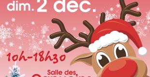 Marché de Noël 2018 à Is-sur-Tille (21)