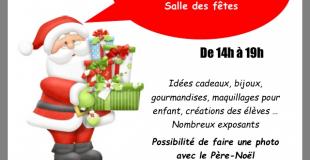 Marché de Noël 2018 de Néac (33)