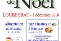Marché de Noël 2018 de Loubeyrat (63)