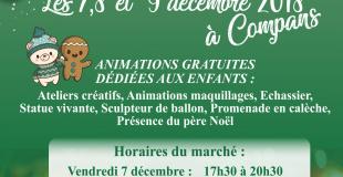 Marché de Noël 2018 à Compans (77)