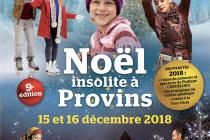 Noël insolite 2018 à Provins (77)