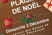 Marché de Noël 2018 de Saint Laurent des Autels (49)