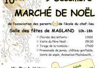 10ème Marché de Noël à Magland (74)