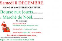 Marché de Noël 2018 et bourse aux jouets à Laurens (34)