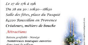 Marché du Bout d'An - Roussillon(84)