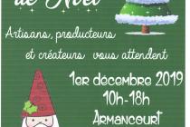 Marché de Noël 2019 à Armancourt (60)
