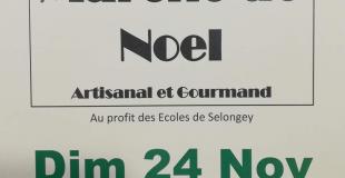 Marché de Noël 2019 à Selongey (21)