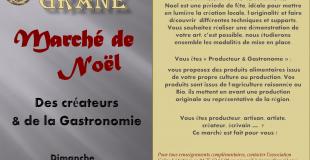 Marché de Noël 2019 des créateurs et de la gastronomie à Grâne (26)
