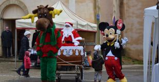 Marché de Noël 2019 à Uchaux (84)