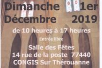 Marché de Noël 2019 à Congis sur Thérouanne (77)