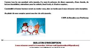 Marché de Noël 2019 de Beaulieu sous Parthenay (79)