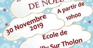 Marché de Noël 2019 de Poilly sur Tholon (89)
