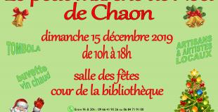 Le Petit Marché de Noël de Chaon 2019