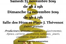 Marché de Noël 2019 à Sathonay-Camp (69)