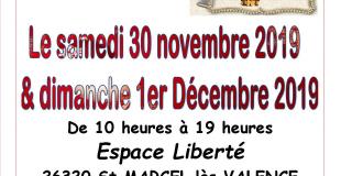 Marché de Noël 2019 de Saint-Marcel-lès-Valence (26)