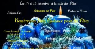 Grand marché de Noël 2019 à Vitry en Artois (62)